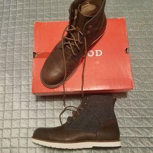 IZOD MEN'S BOOTS Lambert brown